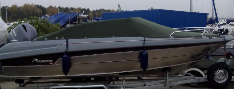 Чехлы и тенты для катеров и яхт